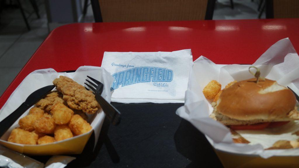 Almoço em Springfield